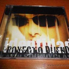 CDs de Música: PROYECTO DUENDE IDENTIDAD CD ALBUM NUEVO PRECINTADO DUO JAVIER OJEDA DANZA INVISIBLE 12 TEMAS. Lote 36485092