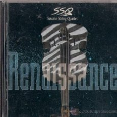 CDs de Música: SOWETO STRING QUARTET - RENAISSANCE - CD RCA VICTOR/BMG 1996. Lote 36486398