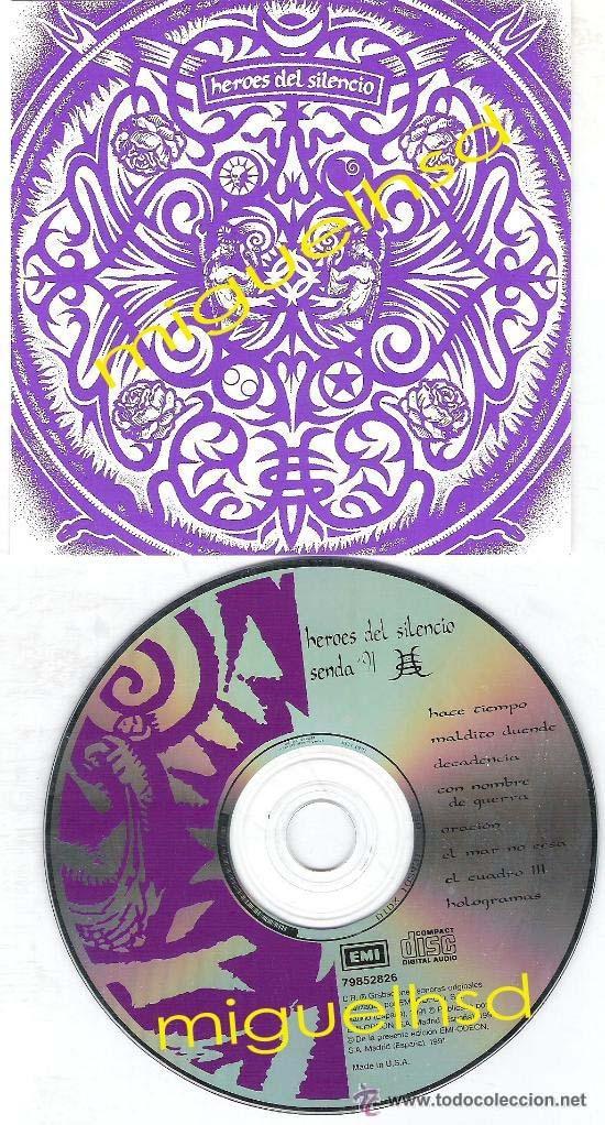 HEROES DEL SILENCIO SENDA 91 USA RARE (Música - CD's Rock)