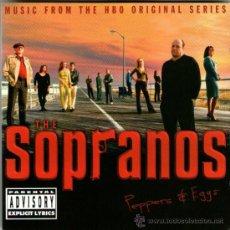 CDs de Música: DOBLE CD ALBUM: THE SOPRANOS - BSO / BANDA SONORA ORIGINAL - 25 TRACKS - HBO 2001. Lote 56829169
