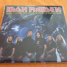 CDs de Música: IRON MAIDEN WELCOME TO THE FINAL FRONTIER DOBLE CD. Lote 36538444