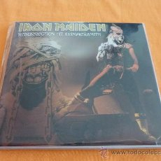 CDs de Música: IRON MAIDEN RESURRECTION AT HAMMERSMITH DOBLE CD. Lote 36538492
