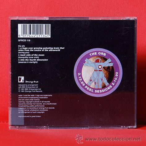 CDs de Música: THE ORB PEEL SESSIONS CD - Foto 2 - 36618273
