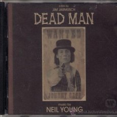 CDs de Música: DEAD MAN DE JIM JARMUSCH BSO - MÚSICA DE NEIL YOUNG - CD 1996 VAPOR RECORDS/REPRISE/WARNER BROS.. Lote 153662545