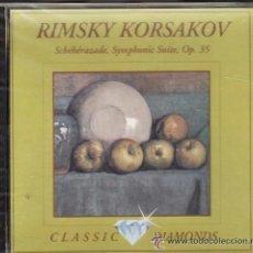 CDs de Música: ** CD01 - RINSKY KORSAKOV - SCHEHERAZADE, SYMPHONIC SUITE, OP. 35. Lote 36624268