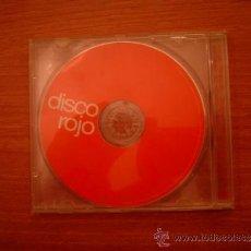 CDs de Música: CD DISCO ROJO . Lote 36658427