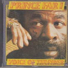 CDs de Música: PRINCE FAR I - VOICE OF THUNDER - TROJAN RECORDS - ROOTS REGGAE . Lote 36695145