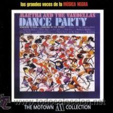 CDs de Música: MARTHA AND THE VANDELLAS DANCE PARTY CD. Lote 36704046