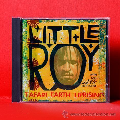 LITTLE ROY TAFARI EARTH UPRISING CD RARO (Música - CD's Reggae)