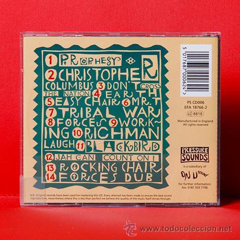 CDs de Música: LITTLE ROY TAFARI EARTH UPRISING CD RARO - Foto 2 - 36707881