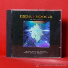 CDs de Música: ENIGMA MCMXC A.D. THE LIMITED EDITION CD (HOLOGRAMA). Lote 36708397
