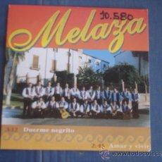 CDs de Música: MELAZA DUERME NEGRITO / AMAR Y VIVIR PROMO CD-SINGLE 1+1. Lote 36710885