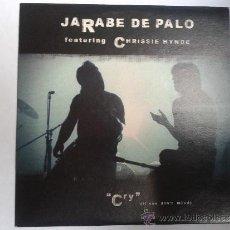 CDs de Música: JARABE DE PALO - FEATURING CHRISSIE HYNDE - CRY (IF YOU DON´T MIND) - DIFÍCIL - CD PROMOCIONAL. Lote 36725910