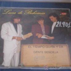 CDs de Música: LUCES DE BOHEMIA EL TIEMPO QUITA Y DA / GENTE SENCILLA PROMO CD-SINGLE 1+1. Lote 36725946