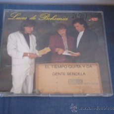 CDs de Música: LUCES DE BOHEMIA EL TIEMPO QUITA Y DA / GENTE SENCILLA PROMO CD-SINGLE 1+1. Lote 36726593