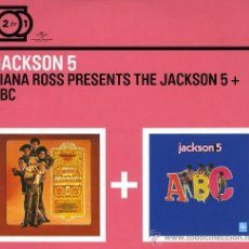 CDs de Música: THE JACKSON 5 * 2 CD * DIANA ROSS PRESENTS THE JACKSON 5 + ABC * PACK PRECINTADO. Lote 36742789