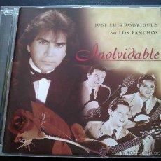 CDs de Música: JOSÉ LUIS RODRÍGUEZ EL PUMA CON LOS PANCHOS, INOLVIDABLE - CD. Lote 36746588