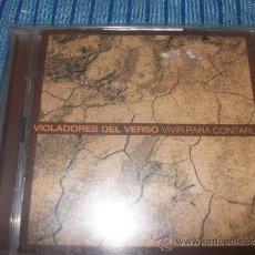 CDs de Música: 2 CD - VIOLADORES DEL VERSO - VIVIR PARA CONTARLO. Lote 36754070