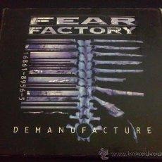 CDs de Música: FEAR FACTORY, DEMANUFACTURE. Lote 36759919