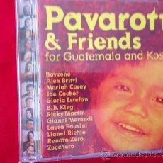 CDs de Música: CD ALBUM PAVAROTTI AND FRIENDS. Lote 36799272