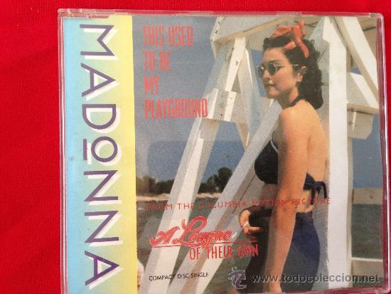 CD SINGL MADONNA THIS USED TO BE MY PLAYGROUND (Música - CD's Pop)