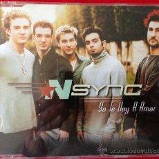 CDs de Música: CD SINGLE NSYNC YO TE VOY AMAR. Lote 36799493
