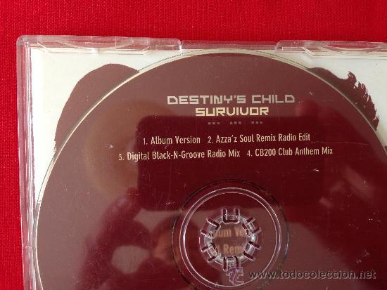 CDs de Música: CD SINGLE DESTINYS CHILD SURVIVOR - Foto 2 - 36800072