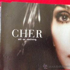CDs de Música: CHER CD SINGLE ALL OR NOTHING. Lote 36807361