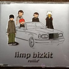 CDs de Música: LIMP BIZKIT ROLLIN 3 TRACKS Y VIDEO CD PROMOTION. Lote 36813670