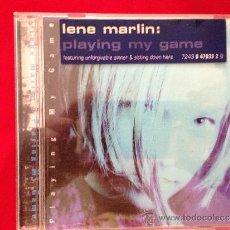 CDs de Música: CD ALBUM LENE MARLIN PLAYING MY GAME. Lote 36822356