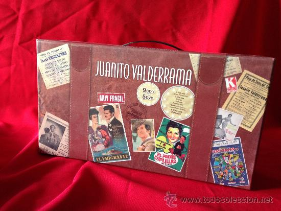 9CD + 5DVD MALETIN JUANITO VALDERRAMA GRANDES EXITOS FLAMENCO JOYA PARA COLECCIONISTAS (Música - CD's Flamenco, Canción española y Cuplé)