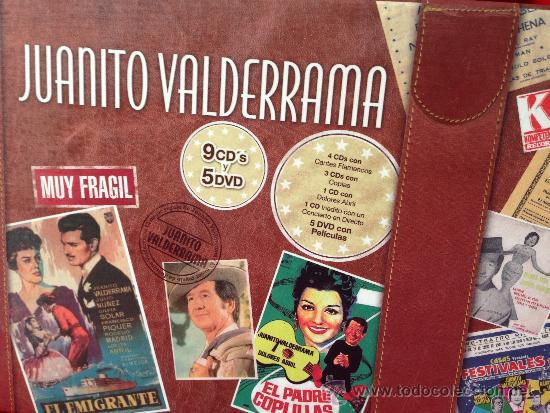 CDs de Música: 9CD + 5DVD MALETIN JUANITO VALDERRAMA GRANDES EXITOS FLAMENCO JOYA PARA COLECCIONISTAS - Foto 2 - 36822487
