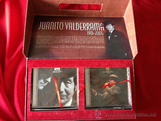 CDs de Música: 9CD + 5DVD MALETIN JUANITO VALDERRAMA GRANDES EXITOS FLAMENCO JOYA PARA COLECCIONISTAS - Foto 3 - 36822487