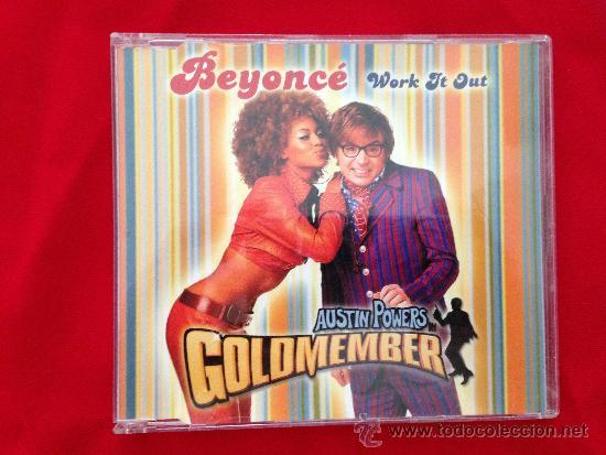 CD SINGLE BEYONCE WORK IT OUT (Música - CD's Pop)