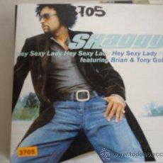 CDs de Música: SHAGGY FEAT. BRIAN & TONY GOLD HEY SEXY LADY PROMO CD-SINGLE. Lote 36875271