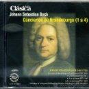 CDs de Música: CONCIERTOS DE BRANDEBURGO ( BACH ) . Lote 54751941