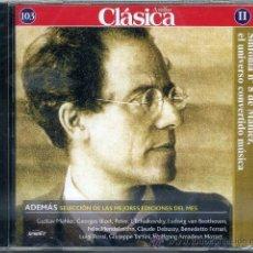 CDs de Música: EL UNIVERSO CONVERTIDO EN MUSICA ( MAHLER ) . Lote 40321320