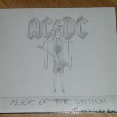 CDs de Música: AC DC - FLICK OF THE SWITCH ('83) REMASTERED 2003( EPIC)	DIGIPACK . Lote 36898106
