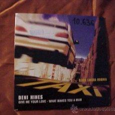 CDs de Música: DENI HINES. GIVE ME YOUR LOVE - WHAT MAKES YOU A MAN. BSO TAXI. CD PROMOCIONAL. EDICION FRANCESA. Lote 36913808