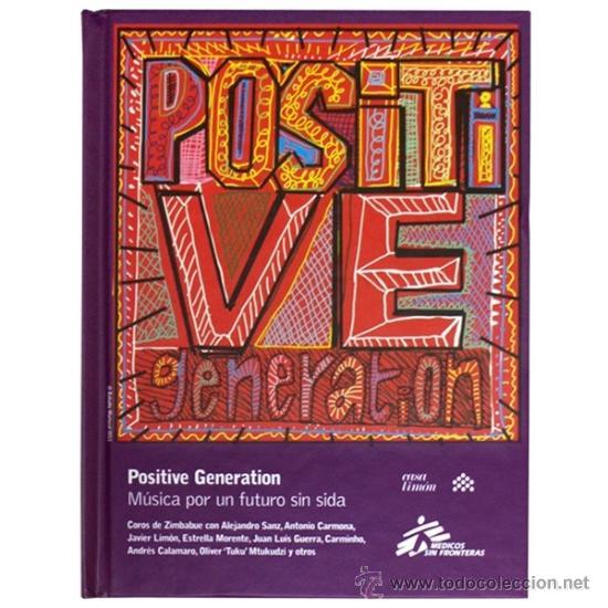 POSITIVE GENERATION: MÚSICA PARA UN FUTURO SIN SIDA * DISCO LIBRO PRECINTADO (Música - CD's World Music)