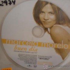 CDs de Música: MARCELA MORELO BUEN DIA PROMO CD SINGLE. Lote 36950990