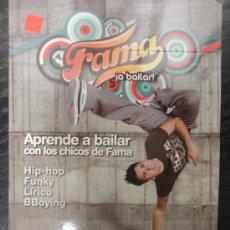 CDs de Música: FAMA ¡A BAILAR! DVD APRENDE A BAILAR CON LOS CHICOS DE FAMA - NIVEL I PRINCIPIANTE (Nº1). Lote 40845819