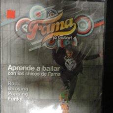 CDs de Música: FAMA ¡A BAILAR! DVD APRENDE A BAILAR CON LOS CHICOS DE FAMA - NIVEL III AVANZADO (Nº9). Lote 36961323