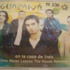 CDs de Música: GUARANA EN LA CASA DE INES CD MAXI 6 TRACKS. Lote 36984886