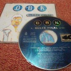 CDs de Música: OBK DULCE FINAL CD SINGLE PROMOCIONAL 40 PRINCIPALES AÑO 1995 CONTIENE MUY BUSCADO POCAS COPIAS. Lote 36991731
