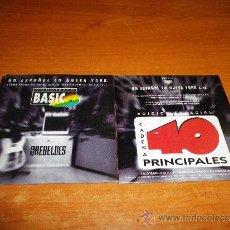CDs de Música: LOS REBELDES UN ESPAÑOL EN NUEVA YORK CD SINGLE PROMOCIONAL 40 PRINCIPALES 1995 CARLOS SEGARRA. Lote 267880339