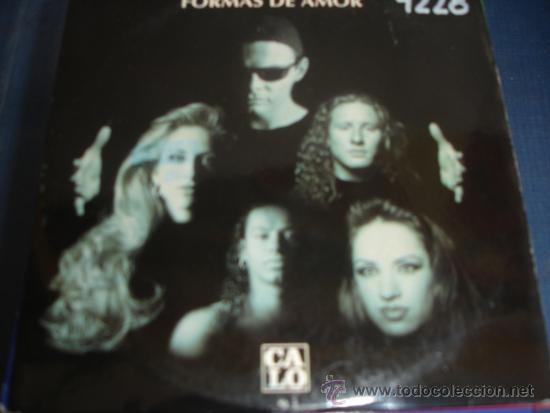 Calo Formas De Amor Promo Cd Single Buy Cds Of Pop Music At