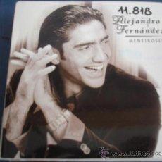 CDs de Música: ALEJANDRO FERNANDEZ MENTIROSOS PROMO CD-SINGLE. Lote 37015397