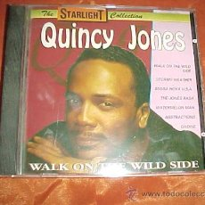 CDs de Música: QUINCY JONES. WALK ON THE WILD SIDE. THE STARLIGHT COLLECTION CD. Lote 37030834