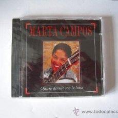 CDs de Música: MARTA CAMPOS - QUIERO DORMIR CON LA LUNA -. Lote 37066690